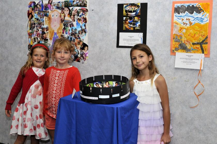 Holly, Maya, Portia with her Zoeperrytrope project