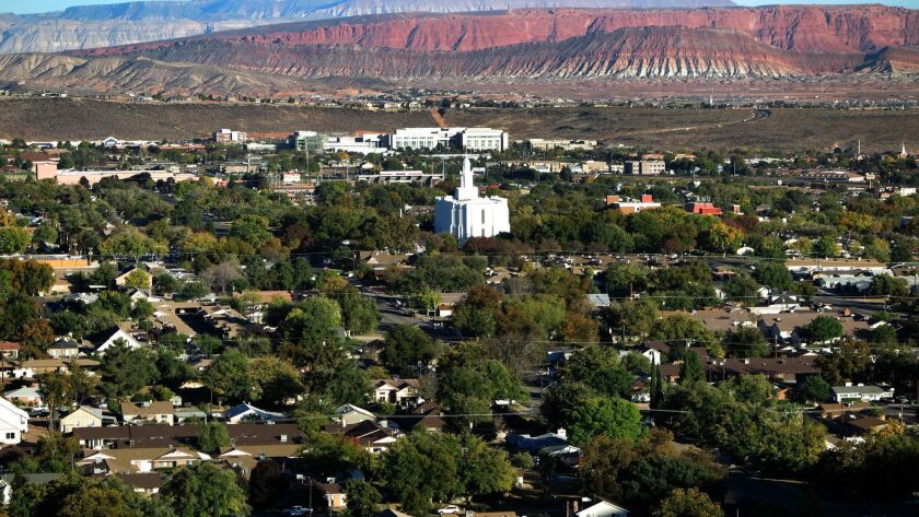 St. George, Utah is the largest city and county seat of Washington County, one of the country's fa