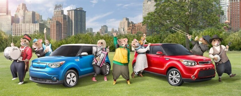 Kia Motors' Music-Loving Hamsters Return to Share the Unifying Power of Music in New Ad Campaign for the Soul Urban Passenger Vehicle.