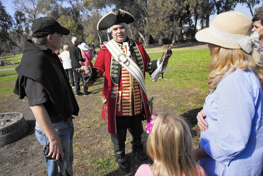 Huntington Beach, home to Civil War reenactments, hosts a