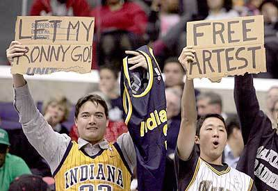 Indiana Pacers fans