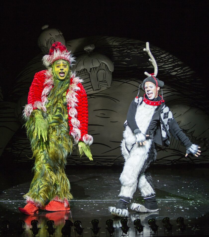 'Dr. Seuss' How the Grinch Stole Christmas!' at The Old Globe Theatre