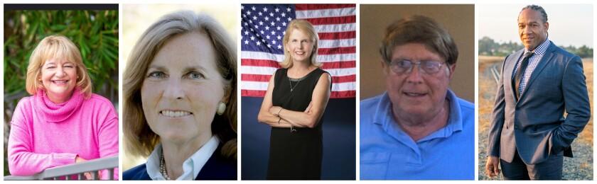 Candidates for Costa Mesa mayor
