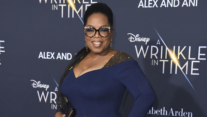 Apple is partnering with Oprah Winfrey to bolster its push into original programming.