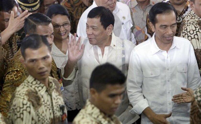 En el breve encuentro de hace unos días, el presidente de Filipinas, Rodrigo Duterte, dijo a su homólogo estadounidense, Barack Obama, que nunca lo insultó.