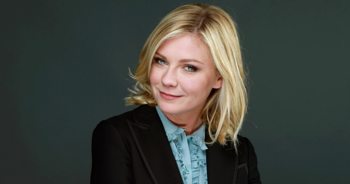 Kirsten Dunst has perfect reaction to Kanye campaign poster - Los Angeles Times