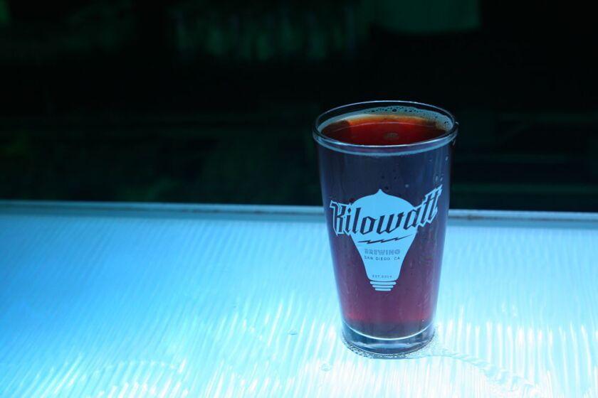 The Christmas Ale is a must-try brew from Kilowatt Brewing (Liz Bowen)