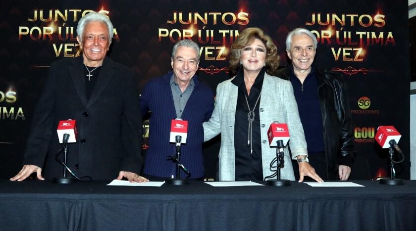 Alberto Vazquez, César Costa, Angélica María y Enrique Guzmán siguen de gira.