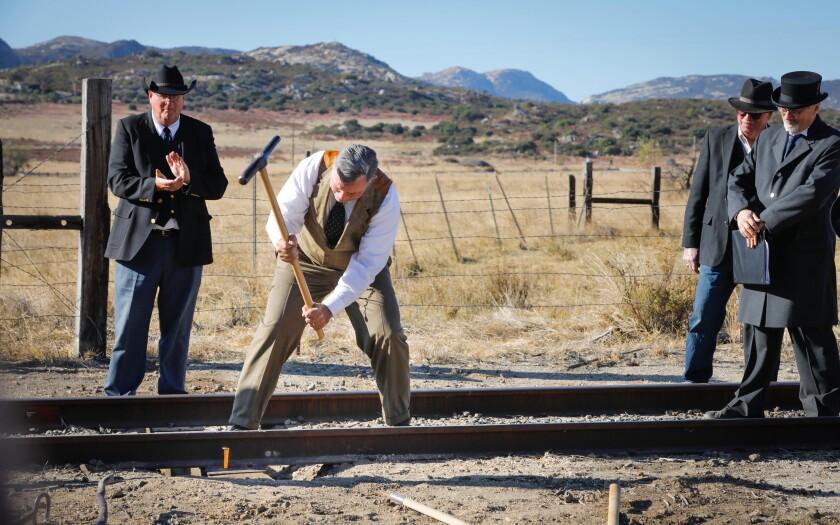 100th anniversary of the San Diego & Arizona Railway