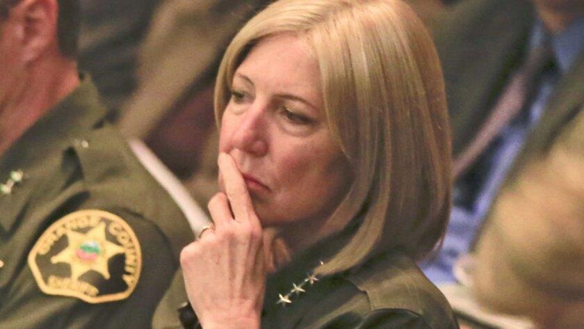 Orange County Sheriff Sandra Hutchens