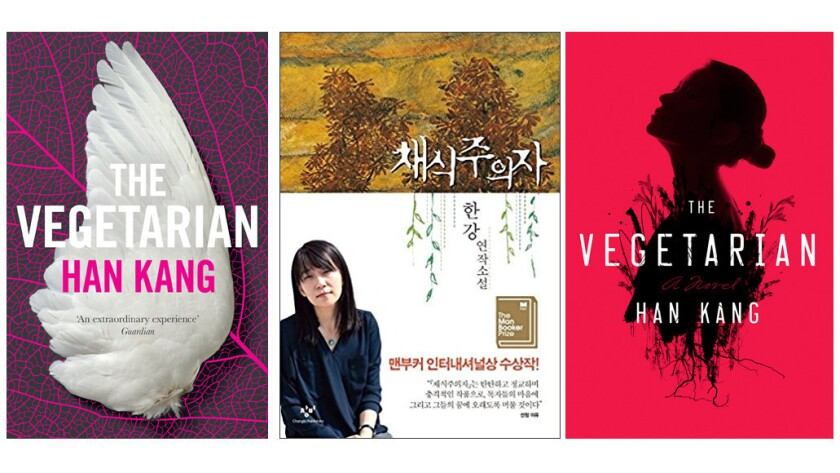 """The Vegetarian"" published in England, South Korea and the U.S."