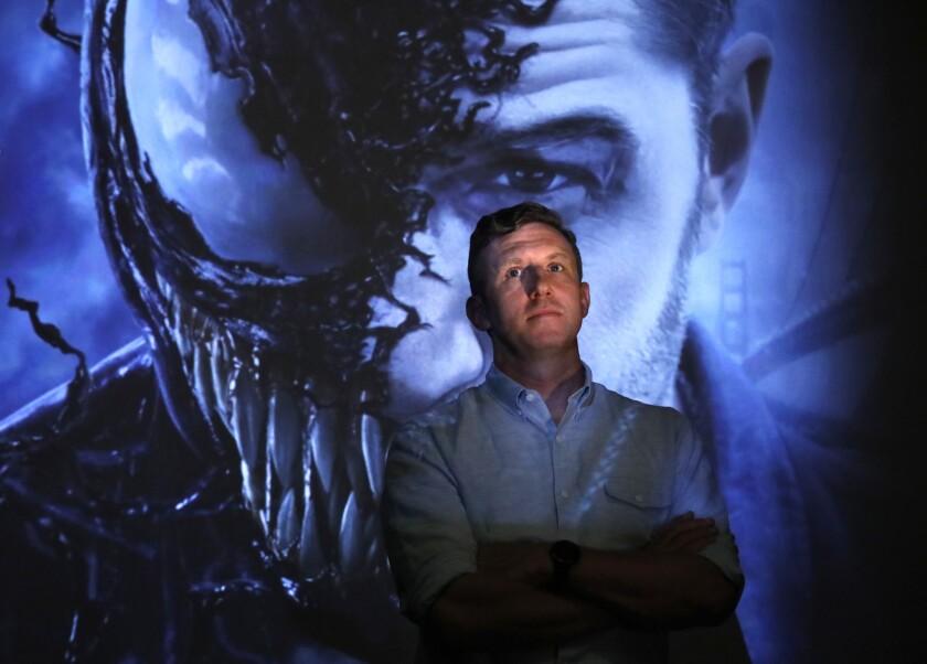 CULVER CITY, CA – AUGUST 10, 2018 - Director Ruben Fleischer's latest film is the Spider-Man spin