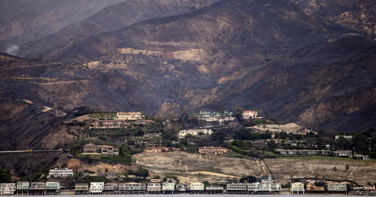 California fires: In Malibu, many residents vow the community will bounce back. But some wonder whether they can afford to rebuild