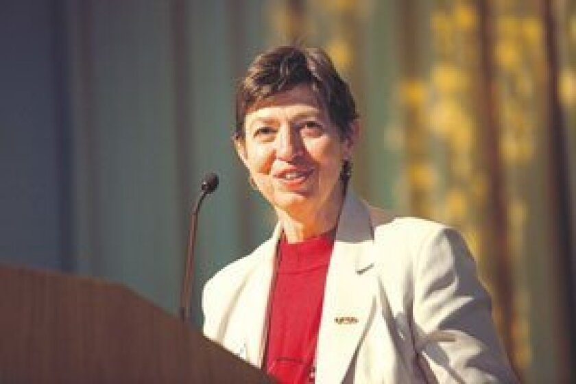 UCSD Chancellor Marye Anne Fox
