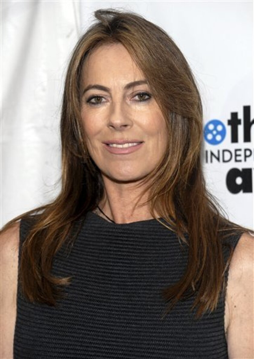 Director Kathryn Bigelow attends the IFC's 19th Annual Gotham Independent Film Awards, Monday, Nov. 30, 2009, in New York. (AP Photo/Evan Agostini)