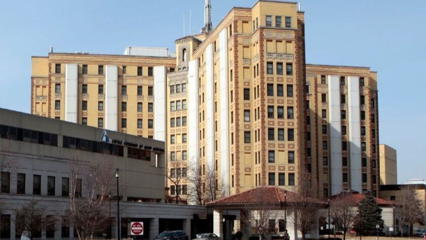 Little Company of Mary Hospital in Evergreen Park is seen in 2010. The hospital plans to close its pediatric inpatient unit,