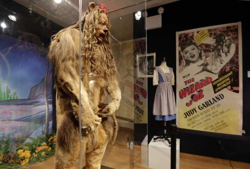 Cowardly Lion Costume Fetches $3,077,000 at Auction