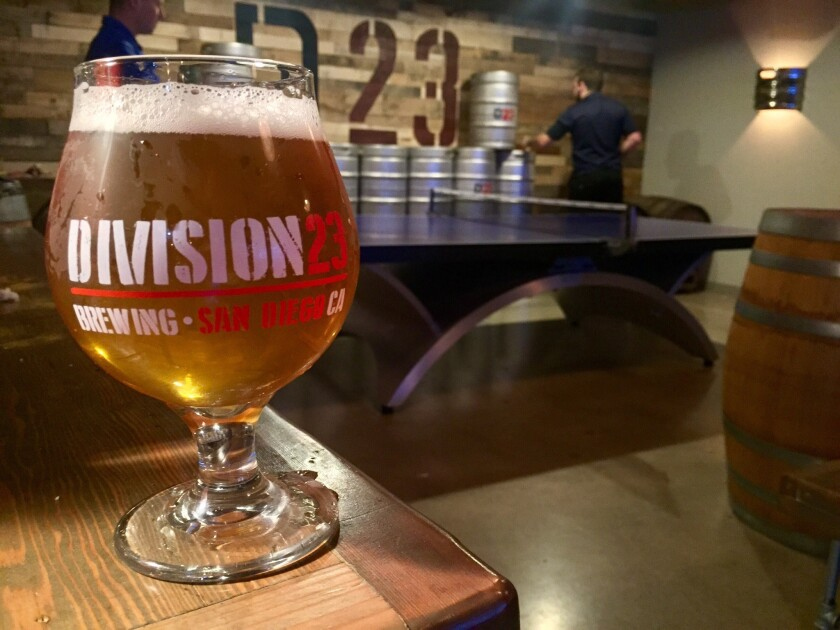 Freight Damage, a delicious IPA from Division 23 (Liz Bowen)
