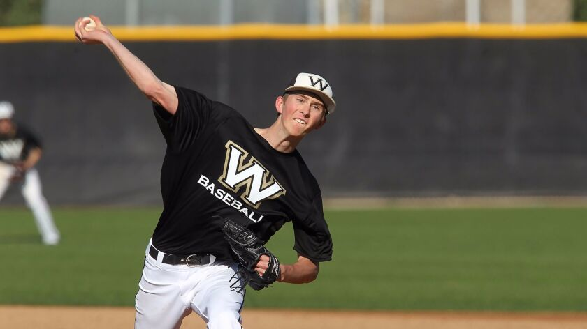 Westview pitcher one of three locals taken in draft - The