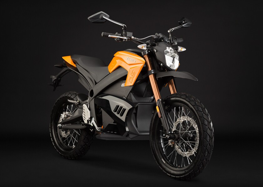 The Zero DS is an all-electric, high performance, dual sport motorcycle from the Santa Cruz, Calif. company Zero.