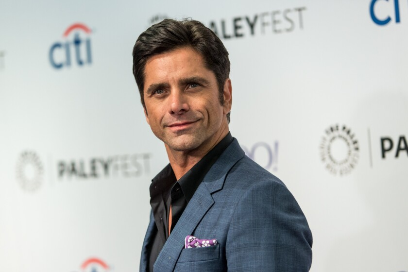 John Stamos attends the 2015 PaleyFest Fall TV Previews at the Paley Center for Media in Beverly Hills. The actor has pleaded no contest to a DUI charge.