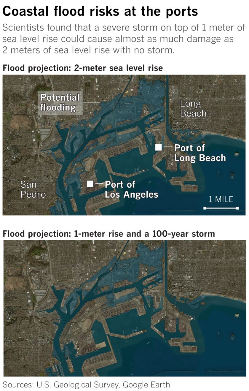 Must Reads: Destruction from sea level rise in California could