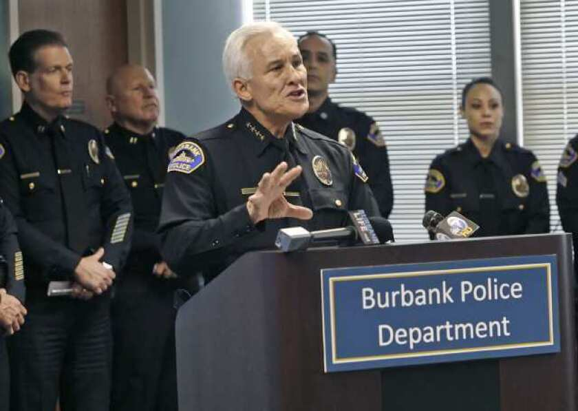 Burbank searching for permanent police chief