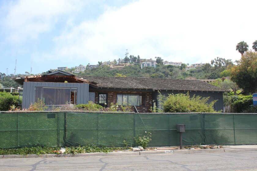 Located at the foot of Mount Soledad, the 2345 Via Siena home was built in 1960 for Maria Goeppert-Mayer and her husband Joseph Mayer.