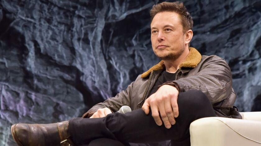 Elon Musk in Austin, Texas, March 2018.