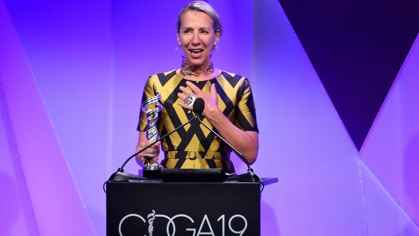 Meryl Streep S Chicken Pot Pie Tin Brassiere And More Revelations From The Costume Designers Guild Awards Los Angeles Times