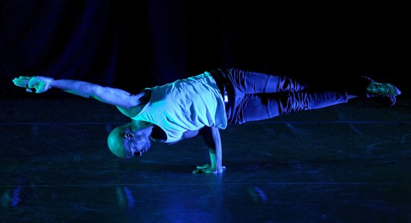 Jacob Jonas the Company performs 'Side Door Series'