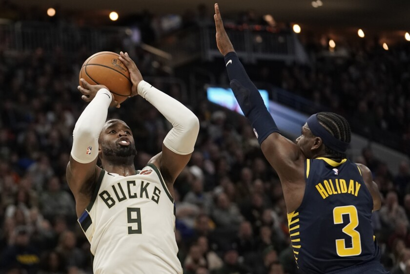Pacers Bucks Basketball