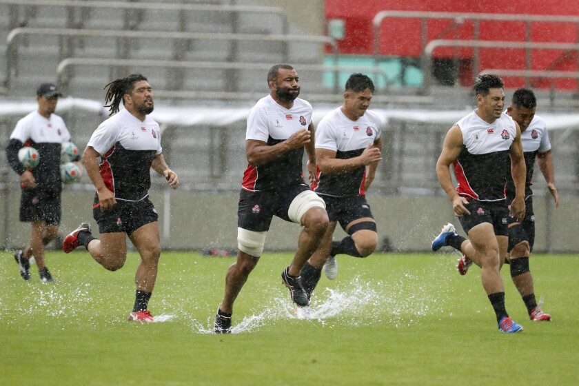 Japan Asia Typhoon Rugby WCup