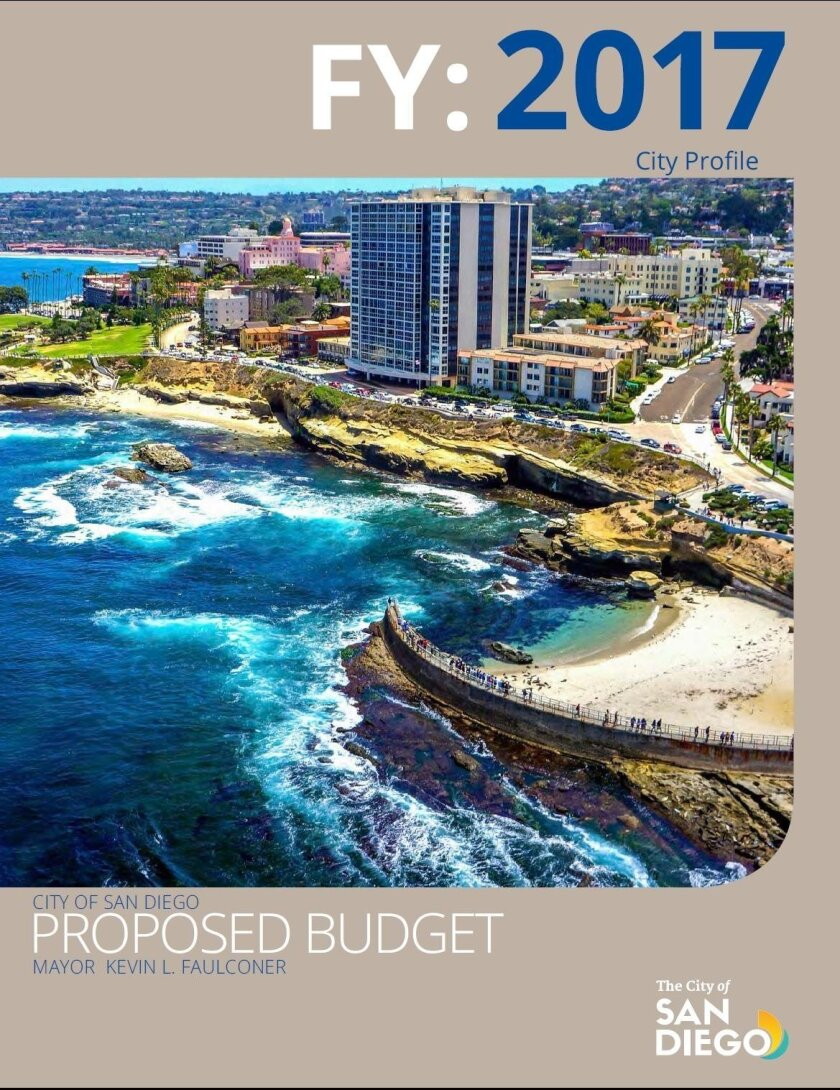 Many La Jolla projects are listed among the expenditures in the proposed 2017 City of San Diego budget, sandiego.gov/fm/proposed