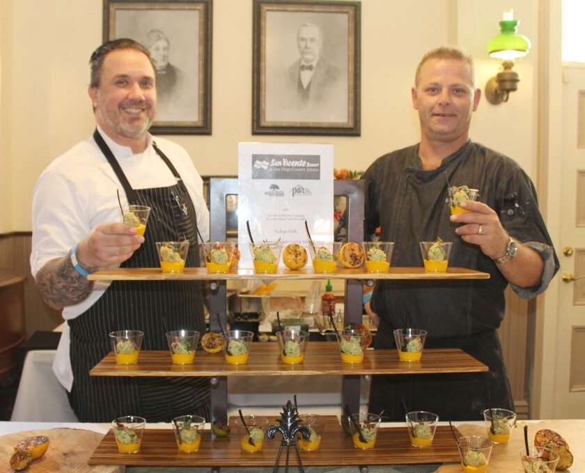 San Vicente Resort chefs.JPG