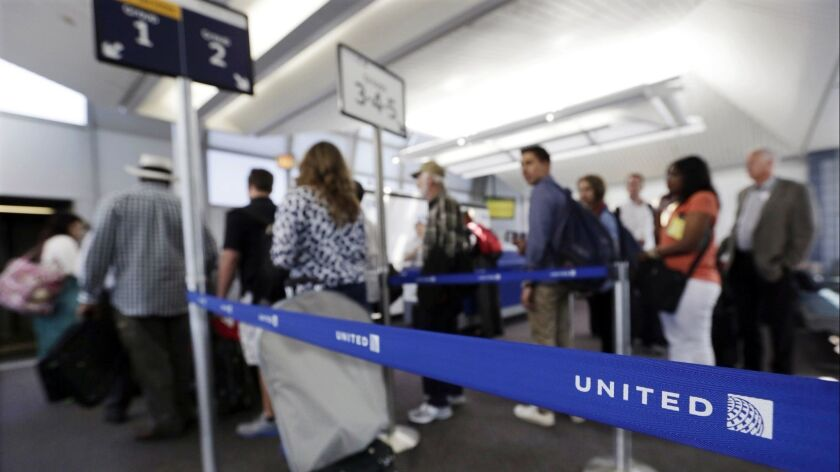 United Airlines has adopted a new boarding process that reduces the number of lanes at the gate from five to two.