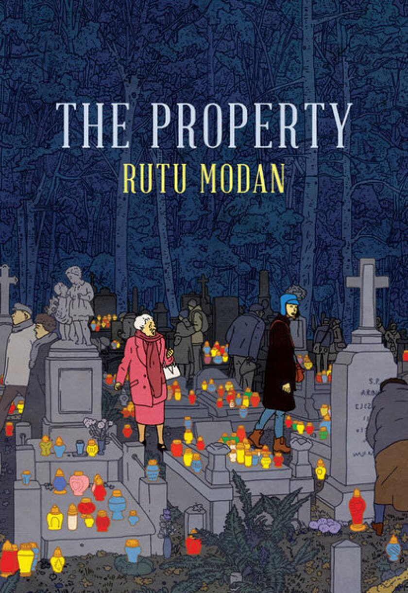"Rutu Modan's new graphic novel is ""The Property."""