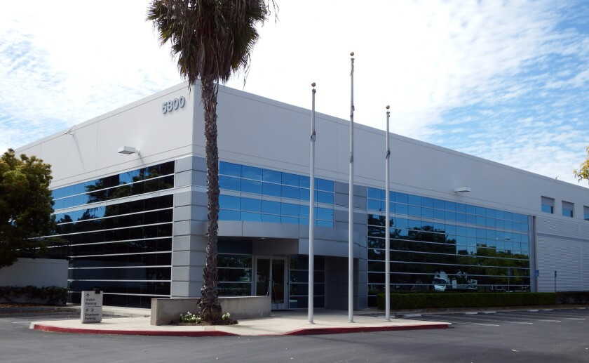 Mitsubishi Electric Automotive America has leased this building at 5800 Skylab Road in Huntington Beach.