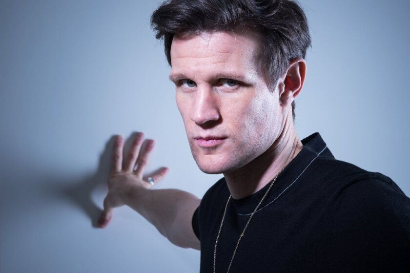 """Actor Matt Smith stands for a portrait during the """"Implicit Tensions: Mapplethorpe Now"""" exhibit at the Guggenheim Museum on Feb. 14 in New York City."""