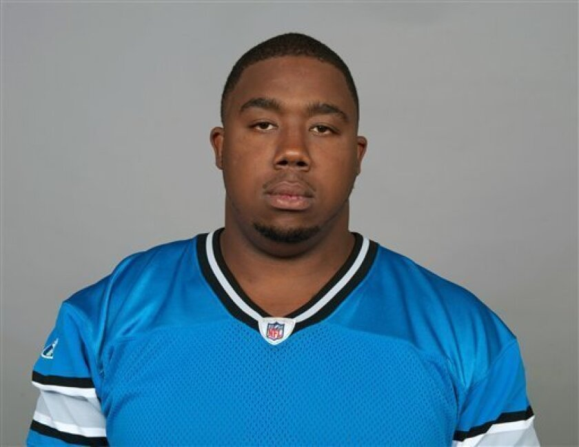 In this July 2011 photo, Detroit Lions' Nick Fairley poses for a photo in Detroit. Authorities say Fairley, a defensive tackle, has been arrested in Mobile, Ala., on a charge of possessing marijuana. Mobile police spokeswoman Ashley Rains says Fairley was arrested Tuesday, April 3, 2012, after citizens called to complain that his Cadillac Escalade was speeding through a neighborhood. (AP Photo)