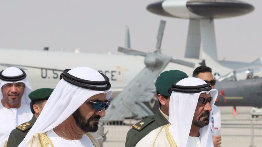 UAE-DUBAI-AIR SHOW