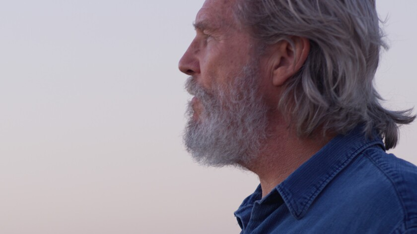 "Jeff Bridges in a scene from ""Living in the Future's Past."" Credit: Trafalgar Releasing"