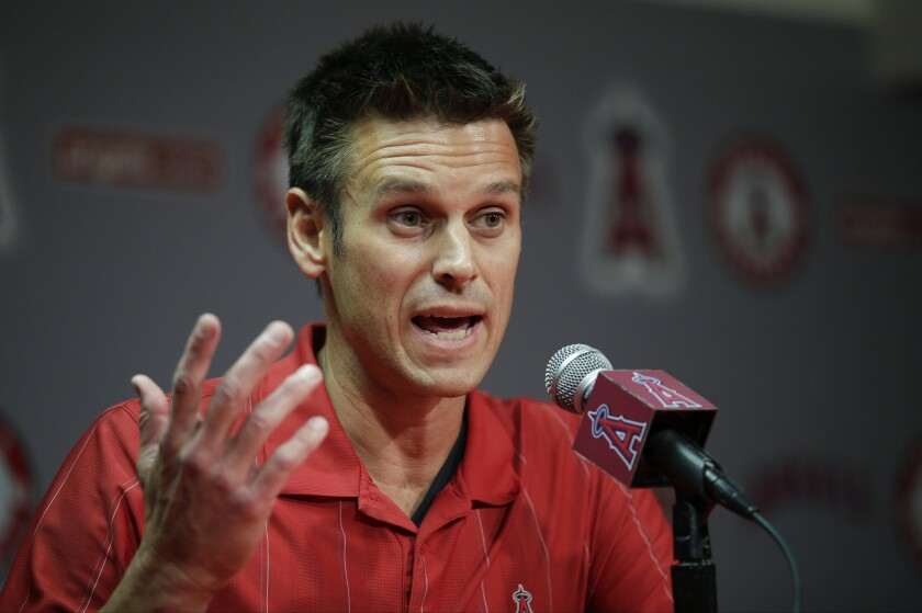 General Manager Jerry Dipoto resigned on Wednesday after 3 1/2 years with the Angels after tensions with the coaching staff.