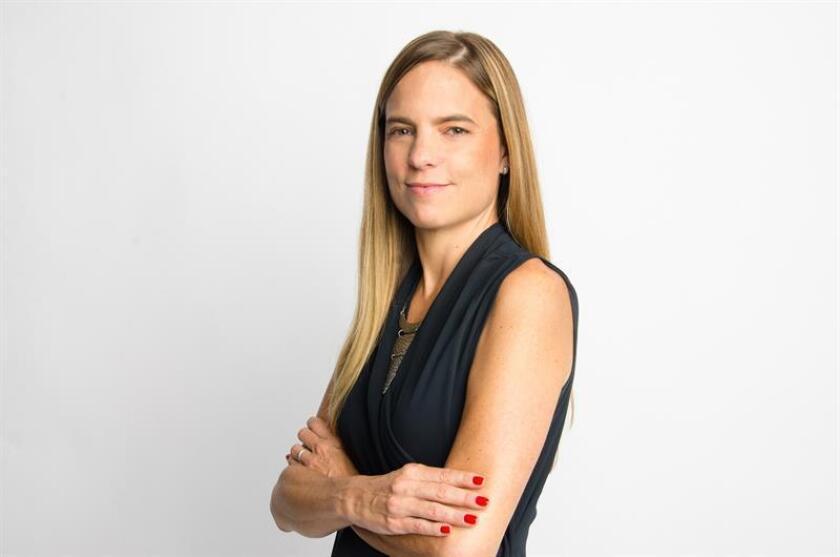 Fotografía cedida por la compañía estadounidense Twitter de la nueva directora general para los mercados hispanos de la compañía, María Teresa Arnal. EFE/Twitter