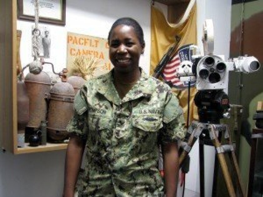 Mass Communications Specialist 1st Class Cassandra Thompson