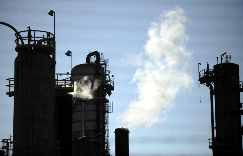 A Torrance refinery