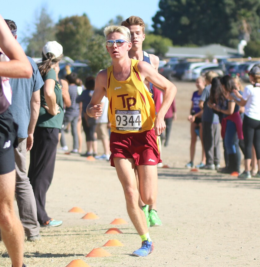 Solid senior Nick Salz is the foundation for an improving Torrey Pines boys' squad.