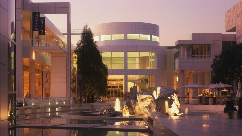 The Getty Center in West Los Angeles, where the Getty Foundation is located.