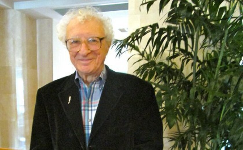 Sheldon Harnick visits the Hyatt Regency La Jolla, where he stayed while working on 'Rothschild & Sons.'