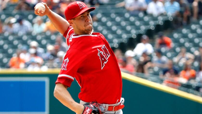 Angels pitcher Tyler Skaggs